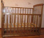 Продам детскую кроватку-маетник