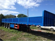 полуприцеп контейнеровоз для перевозки 40 футового контейнера