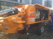 В наличии Новый стационарный бетононасос Zoomlion HBT80