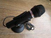 Микрофон с подставкой