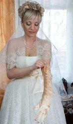 продам красивое платье-находка для современной невесты
