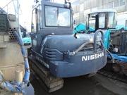 Самоходная буровая машина для бурения под сваи Nissha DHJ-08