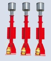 Трапно-факельная установка для сброса горючего газа YPD-20/3