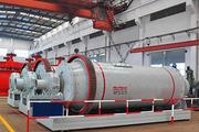 Барабанно-шаровая мельница 1500 мм
