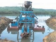Земснаряд для добычи золота HCCT-150