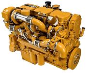 Запчасти на дизельный двигатель Caterpillar 3196