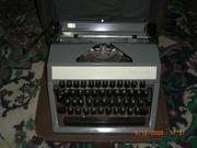 Продам б/у портативную пишущую машину «Москва»