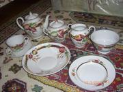 Продам чайный набор из твердого фарфора